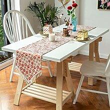 Tischläufer Weihnachten Tischfahne Baumwolle