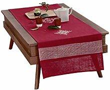 Tischläufer Weihnachten Tischläufer, Rotes