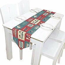 Tischläufer Wohnkultur, Vintage Independence Day