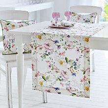 Tischläufer zur Frühlings-Tischwäsche mit