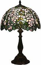 Tischlampe aus farbigem Glas,Europäischen Stil