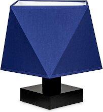 Tischlampe DIALN2BLD Nachttischleuchte Blau