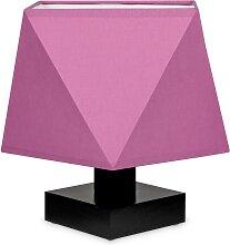 Tischlampe DIALN2ROD Nachttischleuchte Rosa