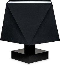 Tischlampe DIALN2SCD Nachttischleuchte Schwarz