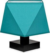 Tischlampe DIALN2TUD Nachttischleuchte Türkis