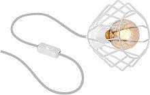 Tischlampe FERRO 1xE27/60W/230V weiß