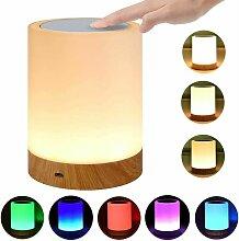 Tischlampe für Schlafzimmer Wohnzimmer LED
