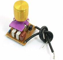 Tischlampe Full Range Dimmer Goldton Rotary Switch