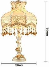 Tischlampe Home Wohnzimmer Schlafzimmer Dekoration Lampe Luxus Hotel Villa Lampe Schreibtischlampe ( farbe : D )