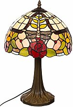 Tischlampe im Tiffany Style, Tiff 136, Tischlampe