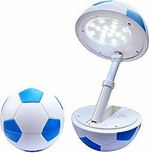 Tischlampe LED kinder Fußball Schreibtischlampe