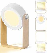 Tischlampe LED Nachttischlampe, SZSMD Nachtlicht