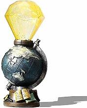 Tischlampe Led Vintage AAA Akku Schreibtischlampe