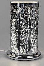 Tischlampe, Leuchte LEBENSBAUM H. 38cm D. 25cm mit
