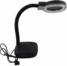 Tischlampe Lupe Handy Reparatur 360-Grad-Dreh Lupe