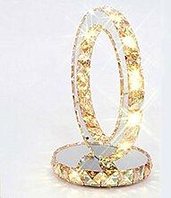 & Tischlampe Moderne Led Kristall