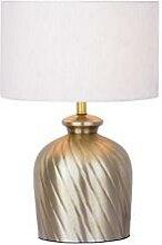 Tischlampe Nachttischlampe ø 30 x H 52 cm