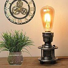 Tischlampe Retro e27 Vintage Landhausstil