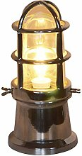 Tischlampe Schiffslampe aus Aluminium von Colmore