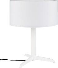 Tischlampe - Shelby - Weiß
