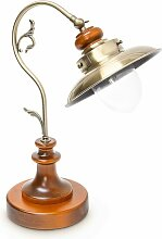 Tischlampe Steampunk Design, Tischleuchte