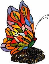 Tischlampe Tiffany Stil Schmetterling