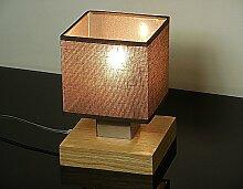 Tischlampe - Wero Design Vigo-031A (Braun