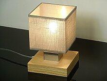 Tischlampe - Wero Design Vigo-031A (Cappuccino