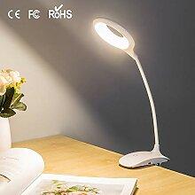 Tischleuchte 16 LED Clip Augenschutz Tischlampe