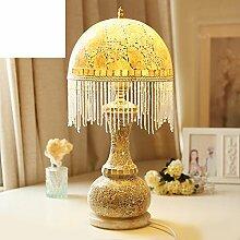 Tischleuchte/Dekoratives Glaslampe/Schlafzimmer Bett Lampe/Süßen Garten Mädchen Lampe/Hausbeleuchtung/Nightligh