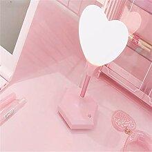 Tischleuchte Japanische-Stil rosa kann Form