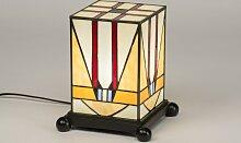 Tischleuchte Klassisch Zeitgemaess Art Deco Glas