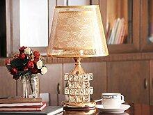 Tischleuchte Moderne Einfach Continental Schlafzimmer Kreative Dekoration Glaslampe , red