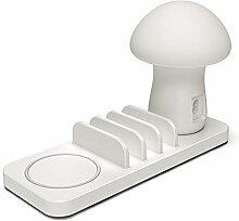 Tischleuchte Pilz Led Schreibtisch Licht mit 3