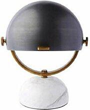 Tischleuchte Retro moderne Marmor Tisch Lampe
