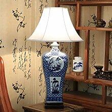Tischleuchte/Schlafzimmer-bett,Creative Klassische,Blau Und Weiß,Living Room,Ländlichen,Neue Chinesische Lampe