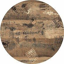 Tischplatte Werzalit Dekor Ex Works 90 cm rund