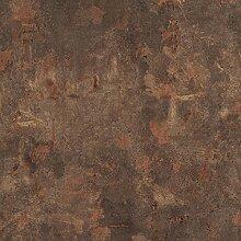 Tischplatte Werzalit, Dekor Rostbraun 70x70 cm