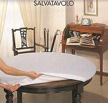 Tischschoner 140 x 220 cm für ovalen Tisch