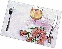 Tischset, abwaschbare Tischsets, rutschfeste