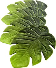 Tischset Blatt (4er Pack), grün