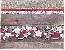 Tischset - Platzmatte Scott - Weihnachten Sterne