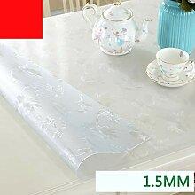 Tischsets Tee Tischset Rechteckige Kristallplatte
