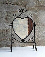Tischspiegel Herz