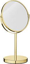 Tischspiegel Kosmetikspiegel Casper gold