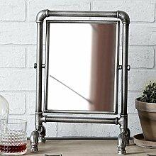 Tischspiegel Loft, anthrazit, H36,5 cm