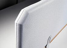 Tischstellwand Octagon Stoff Breite 100 cm Höhe