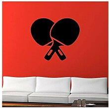 Tischtennis Tischtennis Vinyl Aufkleber