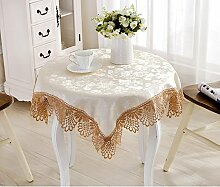 Tischtuch bedeckt tischtuch hausrat tuch schreibtisch kleidung schrank tisch tuch tuch-B 110x110cm(43x43inch)