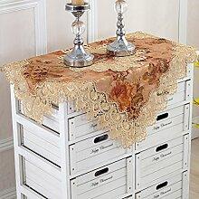 Tischtuch couchtisch cloth schreibtisch tischtuch möbel tuch handtuch schutzhülle-A 120*180cm